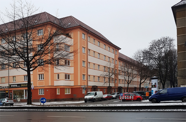 Blick zur Sansibarstraße