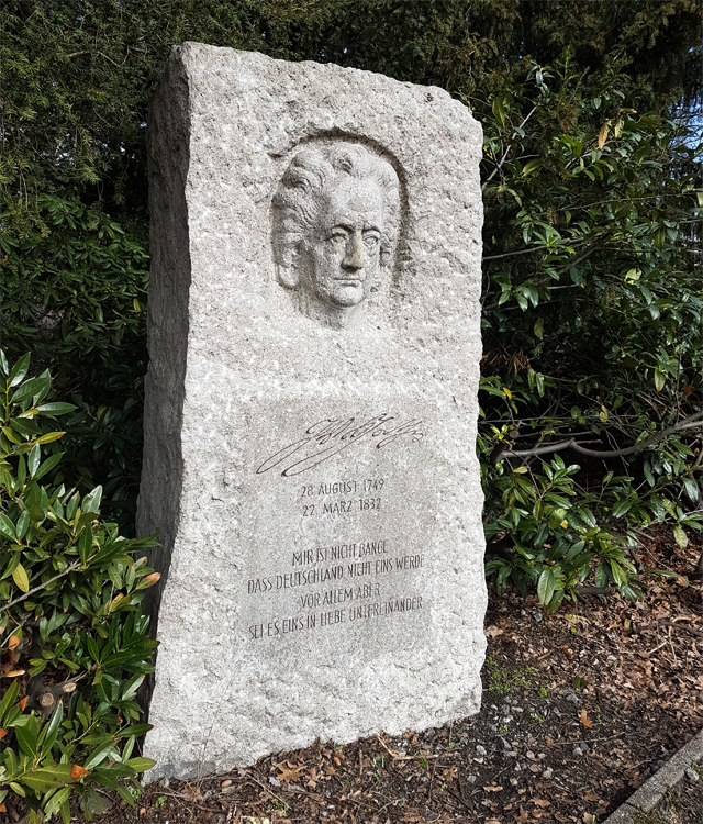 Goethe_Gedenkstein